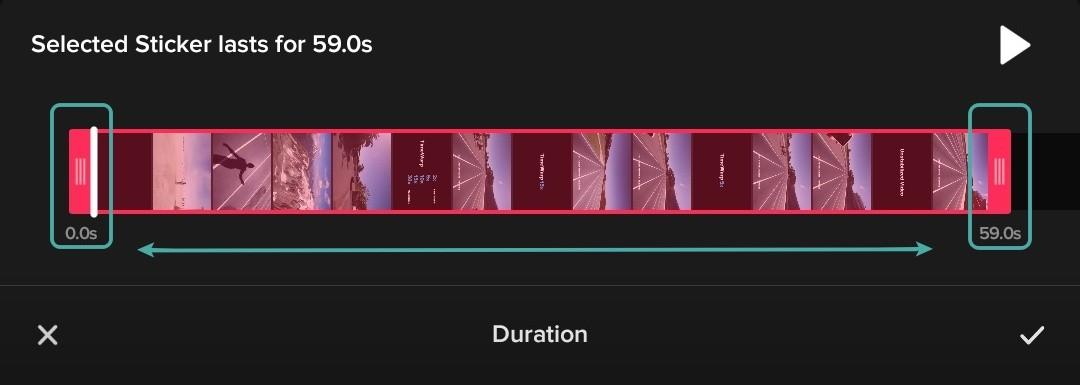 ¿Cómo añadir texto en los vídeos de TikTok en diferentes momentos?