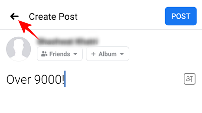 Cómo encontrar borradores en la aplicación de Facebook