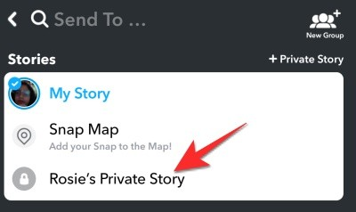 Cómo hacer una historia privada en Snapchat y cómo dejar que cualquiera se una a ella