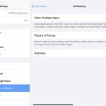 Cómo usar la multitarea en tu iPad