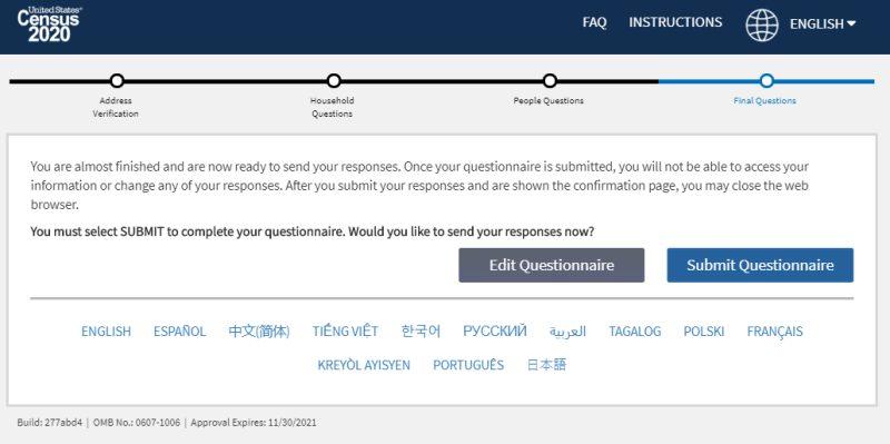 ¿Cómo llevar a cabo el Censo de los EE.UU. de 2020 en línea?