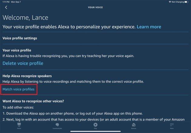 Cómo puedes entrenar a la amazona Alexa para que reconozca tu voz