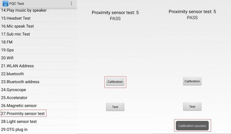 Como calibrar el sensor de proximidad Xiaomi