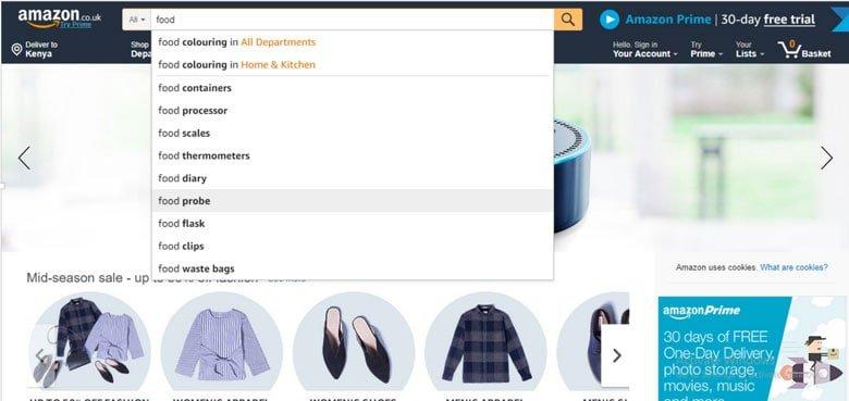 Amazon-search-engine-artifficial-intelligence