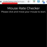 Cómo cambiar la tasa de sondeo del mouse en Windows 10