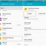Cómo deshabilitar o desinstalar la aplicación Peel Remote de su Samsung, HTC u otros dispositivos Android