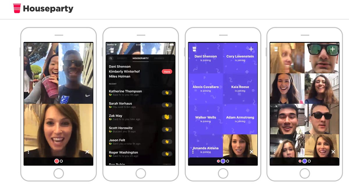 Houseparty-Group-Video-Chat-App