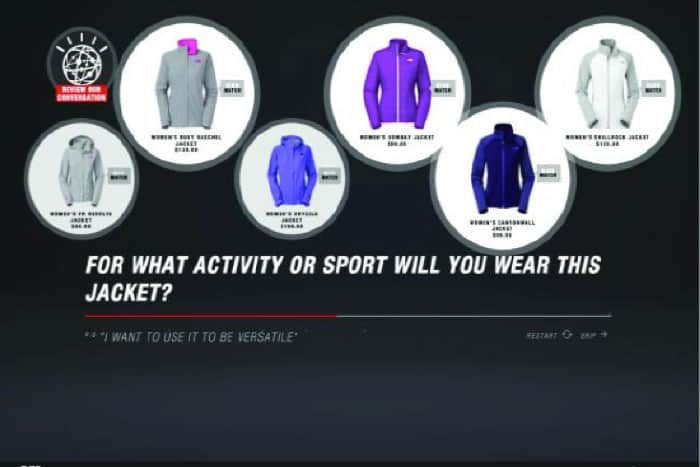 North Face - AI - brand management