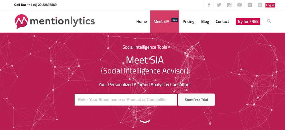 SIA - Brand Monitoring guide - Social Intelligence Advisor