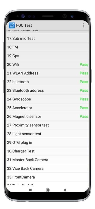 Ver si tu teléfono Xiaomi tiene una avería interna