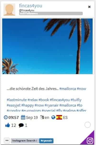 fincas4you - hashtags