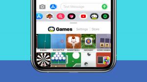 Cómo eliminar la aplicación Game Pigeon en iPhone